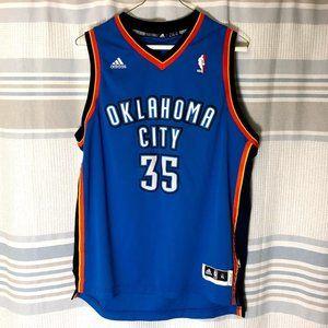 Kevin Durant Oklahoma City Thunder Jersey Boys XL